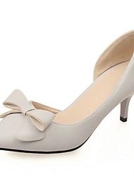 Damen-High Heels-Hochzeit Büro Kleid Lässig Party & Festivität-Kunststoff Lackleder Kunstleder-Stöckelabsatz-Komfort Neuheit Pumps-Rosa