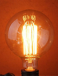 G125 40W E27 Incandescent Bulb Retro Edison Bulbs(AC220-240V)