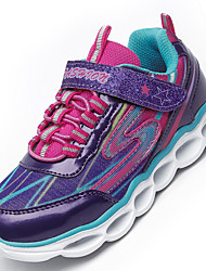 LED Shoes Child Unisex Sneakers Comfort Casual / LED Luminous Shoes / Lace-up Black / Purple / Red