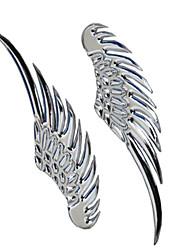 alas de ángel alas de águila alas pegatina de metal volando etiquetas engomadas