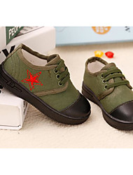 Boy's Boat Shoes Spring / Summer / Fall Flats Canvas Outdoor / Casual Flat Heel Others Ivory