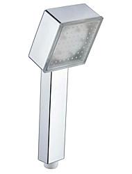 conduit l'auto de douche coloré couleur lumineuse colorée douchette carré (abs galvanoplastie)