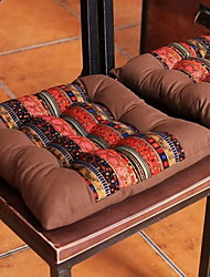 Dining Chair Cushion Fabric Sofa Cushion Chair Cushion Tatami Mats Stitching Stripes