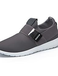 Men's Sneakers Fall / Winter Comfort Canvas Outdoor / Athletic / Casual Low Heel Walking / Running /