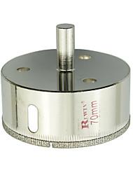 REWIN hulpmiddel gelegeerd staal glas gaten opener hole size-70mm 2 stuks / doos