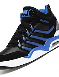 Men's Athletic Shoes Spring / Fall Comfort PU / Tulle Outdoor / Athletic / Casual  Black / Blue / Red / White Walking /