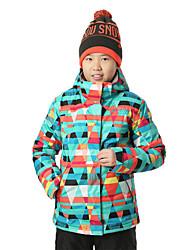 GSOU SNOW® Ski Wear Ski/Snowboard Jackets Women's / Kid's Winter Wear Polyester Winter ClothingWaterproof / Breathable / Thermal / Warm /