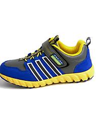 Garçon-Sport-Bleu-Talon Plat-Bout Arrondi-Chaussures d'Athlétisme-Tulle