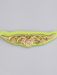 Baroque Vintage Leaves Swirls Silicone Mould cake mold for fondant cake decoration baking ware