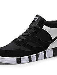 Men's Shoes Casual/Party/Student For Sports And Leisure Fashion Suede Medium cut Sneakers Board Shoes