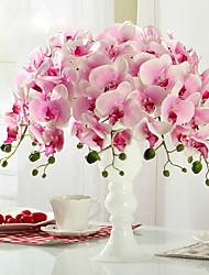1 1 Ramo Poliéster / Plástico Outras Flor de Mesa Flores artificiais 30.7*2.75inch/78*7cm