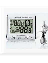 WINYS Проводной Others Indoor and outdoor portable hygrometer with clock function Кот