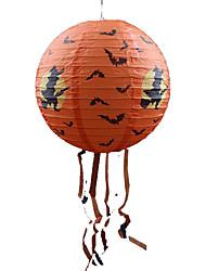 Pour Halloween Orange Papier Accessoires de Cosplay Halloween