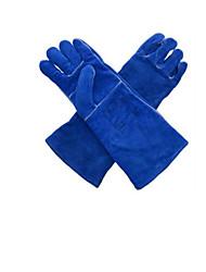 10-2054 сварочные термостойкие кожаные перчатки удлинена размер 10