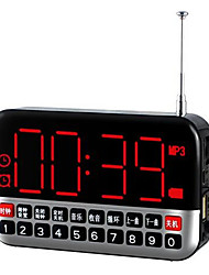 mini haut-parleur portable Langin de conduit radio-réveil personnalité mp3 qualité audio de l'ordinateur