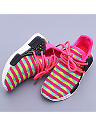 Unisex Sneakers Spring Summer Fall Customized Materials Casual Flat Heel Others Black Red Peach Other
