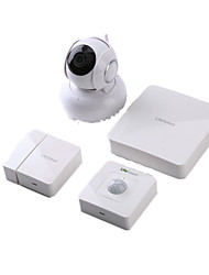 LifeSmart Smart Home Security Package 4-Piece Wisdom Center Wireless Camera Smart Jack