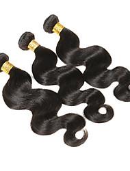 3pcs / 150g cabelo onda cabelo trama malaysian virgem cabelo corpo onda ondas onduladas extensões podem ser tingidas