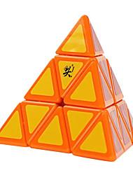 / Glatte Geschwindigkeits-Würfel Pyraminx / Druck-Helfer / Magische Würfel Regenbogen Plastik