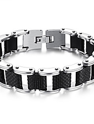 Men's Fashion Jewelry  Rock And Roll Style Titanium Steel Bangles Bracelets Casual/Daily  Accessories Christmas Gifts