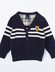Boy's Casual/Daily Striped Sweater & CardiganCotton Fall Blue