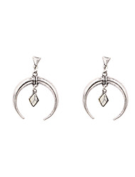 Fashion Women Natural Stone Drop Earrings