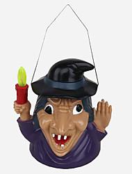 1pc Halloween enfants lampe de citrouille jouet fantôme appelé lampe de citrouille décorée
