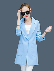 In the spring and autumn outfit new temperament cultivate one's morality joker leisure small suit ms big yards