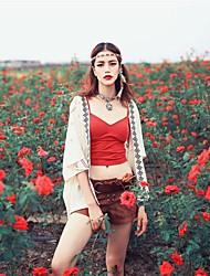 Aporia.As Women's Strap Sleeveless Vest & Waistcoat Burgundy-MZ05049