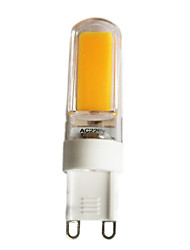 2.5 G9 Luces LED de Doble Pin T 1 COB 220 lm Blanco Cálido / Blanco Fresco Regulable AC 100-240 / AC 110-130 V 1 pieza