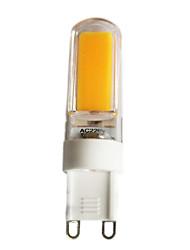 3W G9 LED à Double Broches T 1 COB 220 lm Blanc Chaud Blanc Froid Gradable AC 100-240 AC 110-130 V 1 pièce