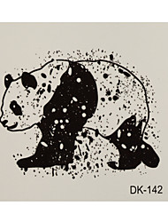 1 Tattoo Aufkleber Tier Serie panda Flash-Tattoo Temporary Tattoos
