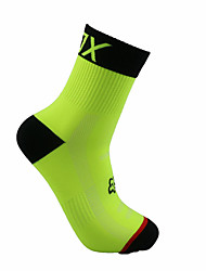 Sports Bike/Cycling Socks Men's Sleeveless Breathable / Wearable Chinlon Classic / Solid Orange Free Size