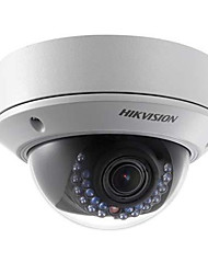 Hikvision DS-2cd2710f-i 1.3MP vari-focal da câmera dome ip com slot para cartão 2.7-12mm lente / poe / sd