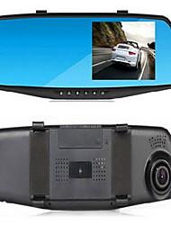 4,3 pouces seul miroir miroir enregistreur de conduite HD 1080p
