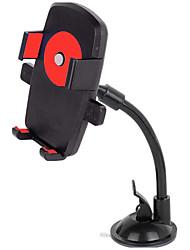 veículo titular do telefone móvel montado / bloqueio automático haste longa suporte de mangueira / 360 suporte de rotação