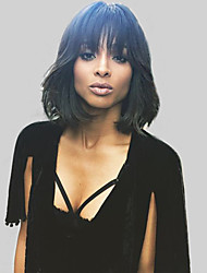 Natural Wavy  Human Hair Wigs For  Woman