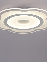 40W Flush Mount   Modern/Contemporary for LED AcrylicLiving Room / Bedroom / Dining Room / Kitchen / Study Room/Office