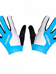 SAHOO Full Finger Cycling Gloves Gel Touch Screen Mountain Bike ciclismo Bicycle Shockproof Gloves