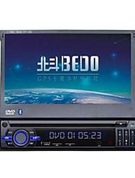 o único eixo de navegação telescópica universal de navegação caminhão máquina de dvd de navegação dvd telescópica de 7 polegadas