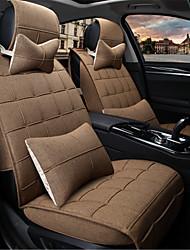 The New Flax Car Seat Cushion In Summer Seasons Four Seasons General Car Cushion Pad