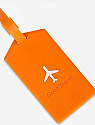 Travel Luggage Tag Luggage Accessory Plastic Blue / Green / Red / Yellow Other