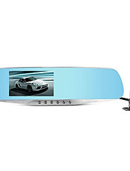 Ling Degrees Driving Recorder HS650B Dual Lens HD Rear View Mirror Image 24H Parking Monitoring