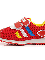 Girl's Sneakers Spring / Fall / Winter Comfort Tulle Outdoor / Casual Flat Heel Magic Tape Track & Field / Walking
