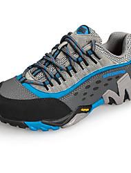 Homme-Extérieure-Bleu / Violet / Kaki-Talon Plat-Bout Fermé-Chaussures d'Athlétisme-Daim / Tulle