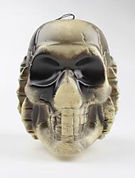 1шт светящегося черепа Хэллоуин двухсторонние скелет свет черепов привели свет небольшой ночной свет украшения лампы