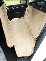 Upgrade Quilted Soft Short Plush Pet Car Seat Cover Waterproof Skid SUV Car Trunck Seat Cover