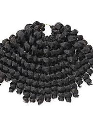 saltitante onda torção extensões de cabelo 12 polegadas 6packs Kanekalon / lot cabelo tranças 6-8 pcs é cabeça cheia