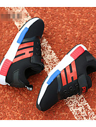 Unisex Sneakers Spring / Summer / Fall Flats Customized Materials Athletic / Casual Flat Heel Others Black