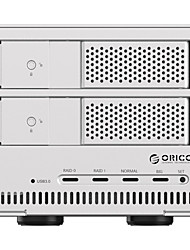 Orico 9528 Ru3 Double Disk Full Aluminium 8 Tb Extend The Hard Disk Box Disk Array 3.5 -Inch Hard Random Color